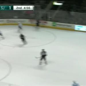 Jonathan Quick Save on Joe Pavelski (15:06/2nd)