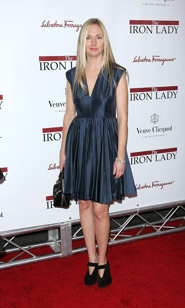 The Iron Lady NY Premiere 2011 Hope Davis