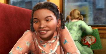Hero Girl ( Nona Gaye ) in Warner Bros. The Polar Express
