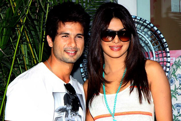 Shahid, Priyanka are the smiles real?