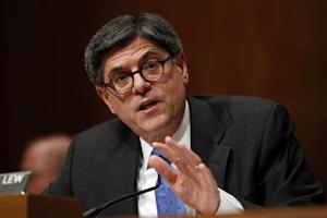 Treasury Secretary Lew testifies about the President's 2015 Budget on Capitol Hill