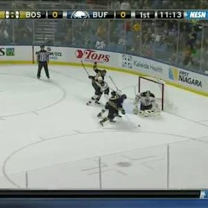Niklas Svedberg Save on Torrey Mitchell (08:52/1st)