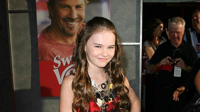 Swing Vote LA Premiere 2008 Madeline Carroll