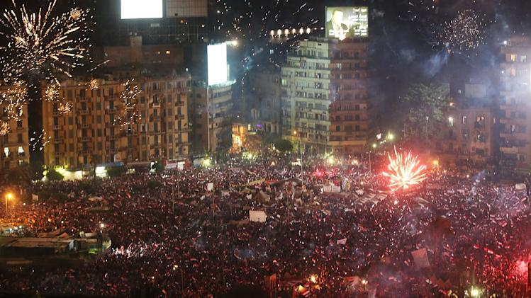 Egypt Protests Intensify As Army Ousts President Morsi
