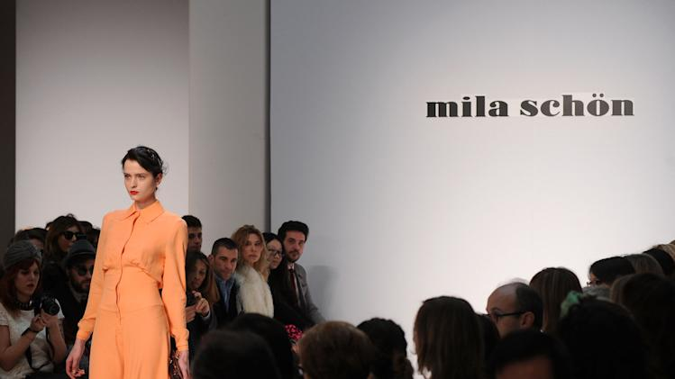 Mila Schon: Runway - Milan Fashion Week Womenswear Autumn/Winter 2012/2013