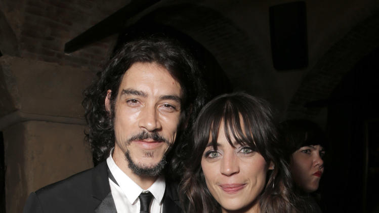 Oscar Jaenada and Ilse Salas attend the after party for the premiere of Pantelion Film's 'Cantinflas' at the Roosevelt Hotel on Wednesday, August 27, 2014 in Los Angeles. (Photo by Todd Williamson/Invision for Pantelion Films/AP Images)