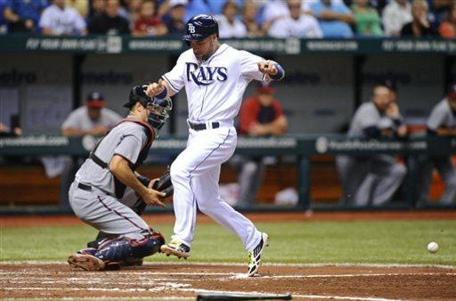 Joyce, Johnson lead streaking Rays past Twins