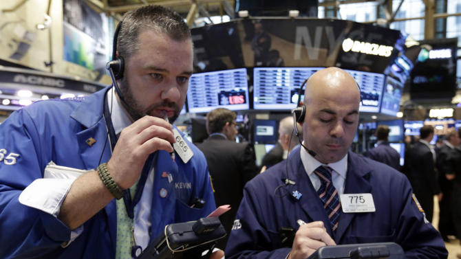 US stocks end a choppy day with a loss