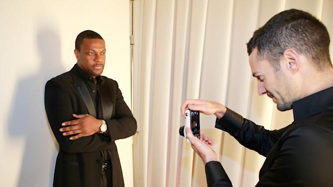 Actor Chris Tucker attends The Hollywood Reporter Nominees Night Presented by Samsung Galaxy at Spago on Monday, Feb. 4, 2013, in Beverly Hills, Calif. (Photo by Ben Cohen/Invision for The Hollywood Reporter/AP Images)