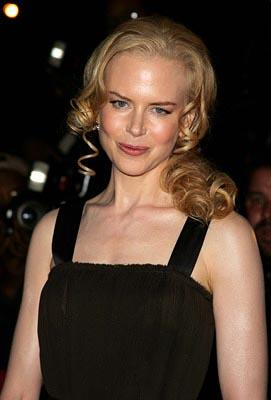 Nicole Kidman at the NY premiere of New Line's Birth