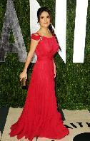 Salma Hayek appears at the 2012 Vanity Fair Oscar Party in West Hollywood, Calif., on February 26, 2012 -- Getty Images