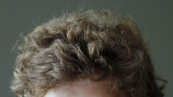 South Africa rugby player Patrick Lambie  talks to the media during the team announcement at the their hotel in Wellington, New Zealand, Thursday Sept. 15, 2011. South Africa will play their next Rugby World Cup against Fiji on Sept 17. (AP Photo/Themba Hadebe)