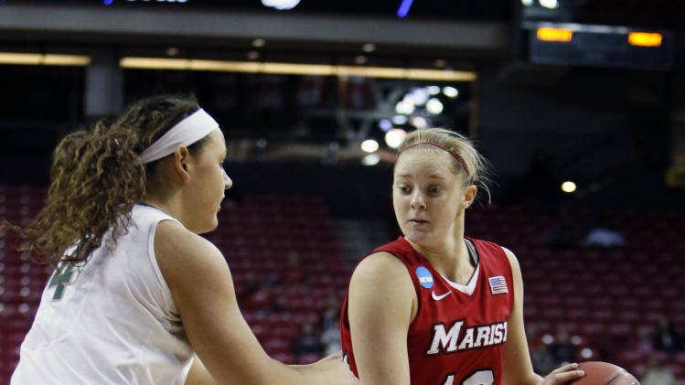 NCAA Womens Basketball: NCAA Tournament-Michigan State vs Marist