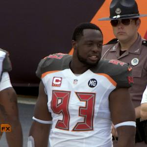 'Sound FX': Tampa Bay Buccaneers defensive tackle Gerald McCoy plays through injury