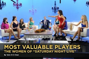 Monday night's 'Real Housewives' sketch on the