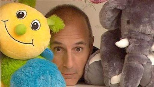 Behind the Scenes of Matt Lauer's Fatherhood PSA