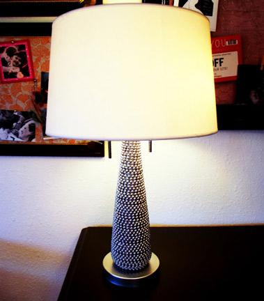 Beaded Lamp Base