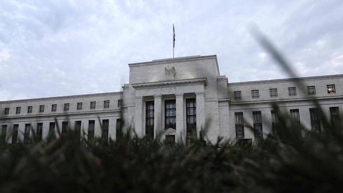 General view of U.S. Federal Reserve building in Washington