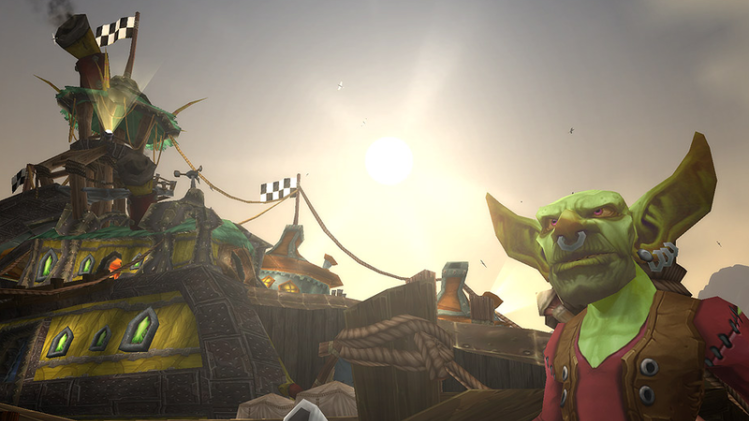 The ghost towns of 'World of Warcraft' are beautiful in their desolation