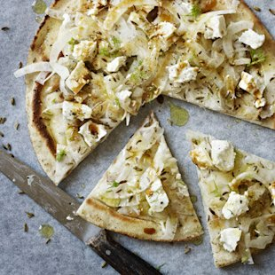 Flatbreads with fennel and feta: Recipes