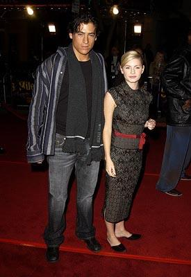 Premiere: Andrew Keegan and Elisha Cuthbert at the LA premiere of Universal's 8 Mile - 11/6/2002