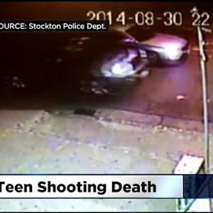 Stockton Police Hope Surveillance Video Helps Find Teen's Killer