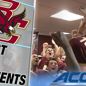 Boston College Gives Game Ball to Family of 9/11 Hero | ACC Must See Moment