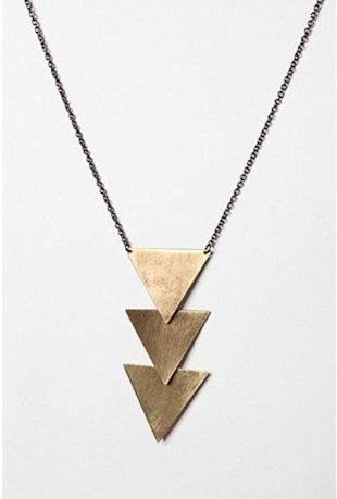 Tiered Geometric Necklace