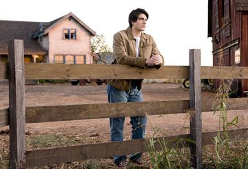 Brandon Routh as Clark Kent in Warner Bros. Pictures' Superman Returns
