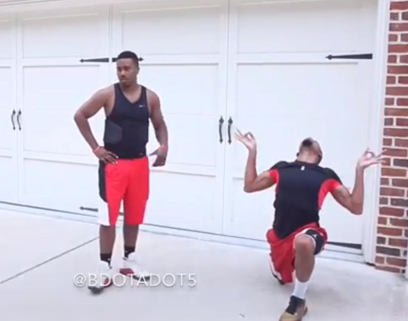 @BdotAdot5 Is Back Again, Breaks Out Hilarious Yet Accurate Impression of J.R. Smith