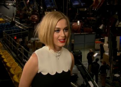 Katy Perry on the set of 'Saturday Night Live' -- Access Hollywood