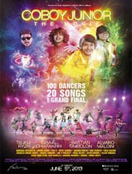 Poster 'COBOY JUNIOR THE MOVIE' Dirilis
