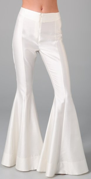 Wear these pants and risk comparisons to John Travolta. Photo courtesy of Shopbop