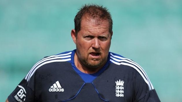 David Saker insists a wet ball affected England's over rate
