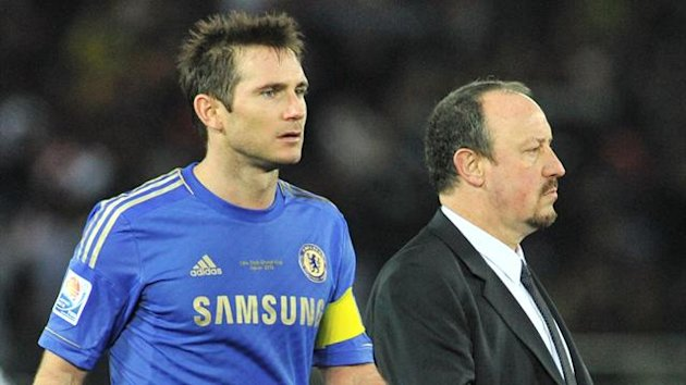 Rafael Benitez and Frank Lampard