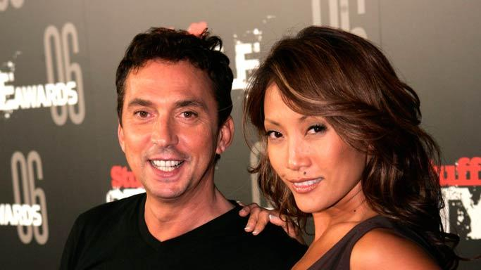 Bruno Tonioli and Carrie Ann Inaba at the Stuff Style Awards hosted by Stuff Magazine.