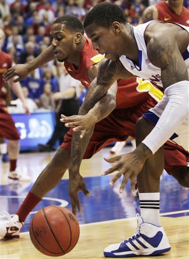 Taylor scores 28 as No. 10 Kansas beats Iowa State