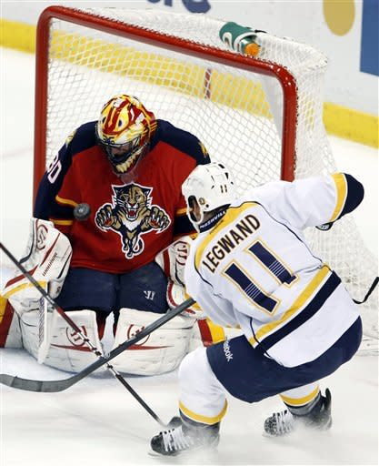 Fisher, Rinne lift Predators over Panthers 3-1