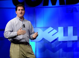 Michael Dell: Credit AP