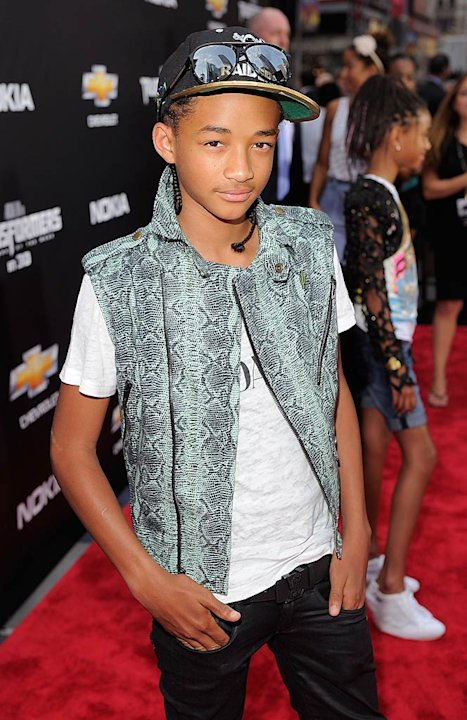 Jaden Smith Transformers Pr