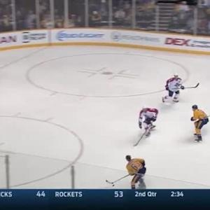 Roberto Luongo Save on James Neal (04:18/2nd)