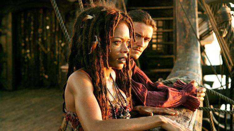Pirates of the Caribbean At World's End 2007 Walt Disney Pictures Naomie Harris Orlando Bloom