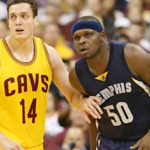 Grizzlies vs. Cavaliers