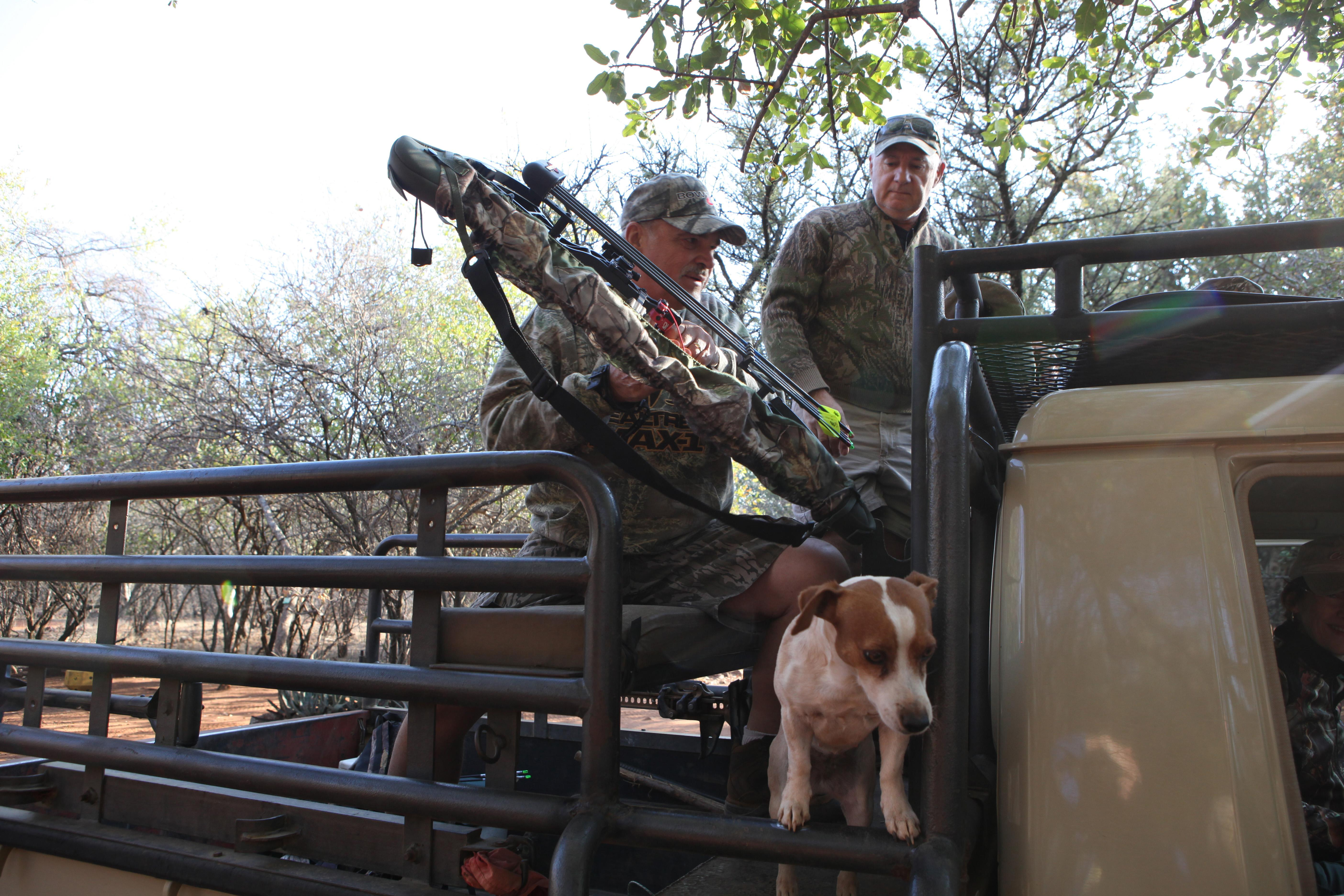 South Africa hunting reserve caters to bow and arrow hunters
