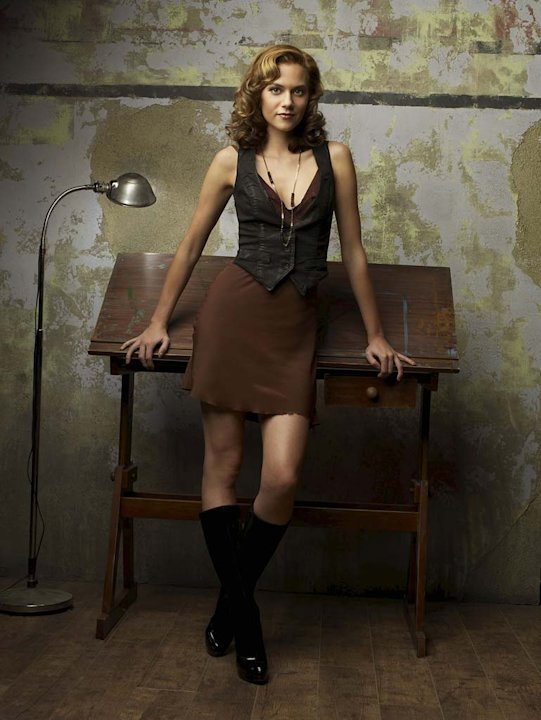 Hilarie Burton as Peyton Sawyer on One Tree Hill.