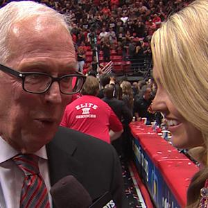 Steve Fisher and Thames on win over New Mexico