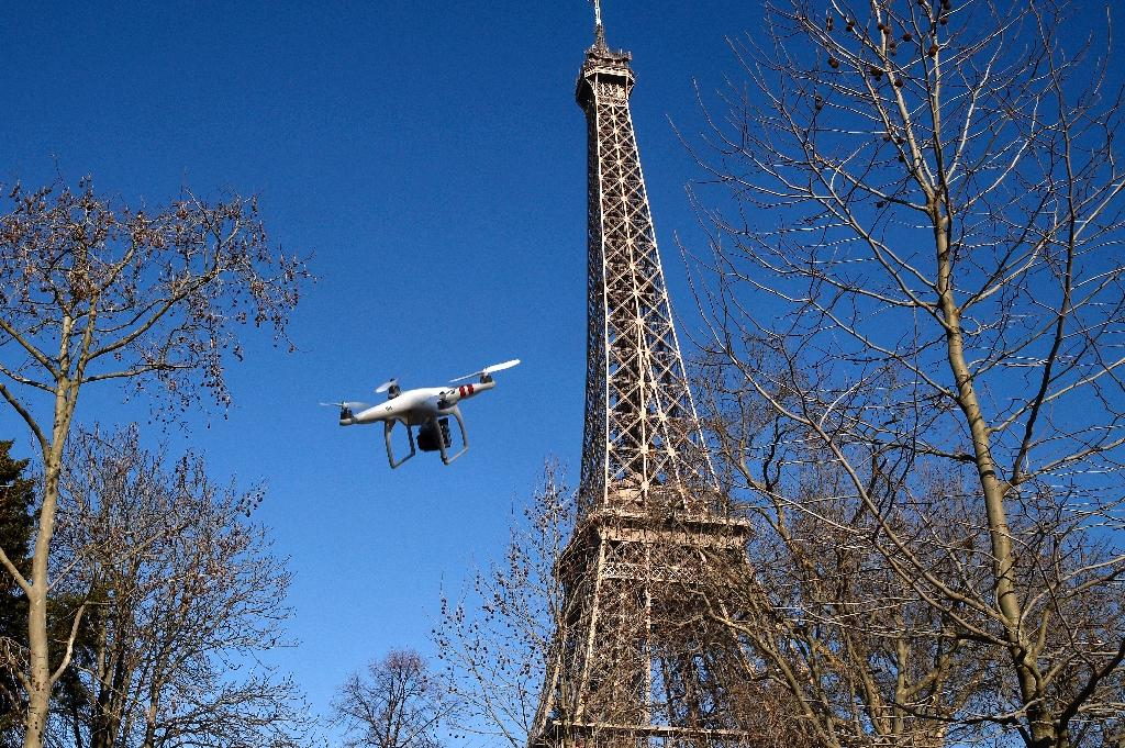French police report 'dozen' drone sightings over Paris