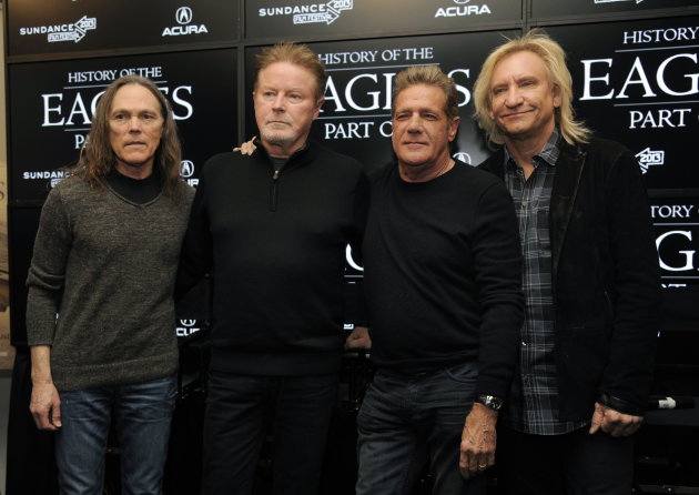 From left, Timothy B. Schmit, …