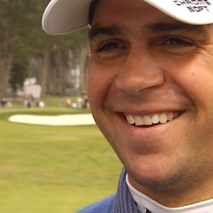 Gary Woodland interview after the Semifinals of Cadillac Match Play