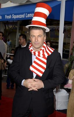 Premiere: Alec Baldwin at the LA premiere of Universal's Dr. Seuss' The Cat in the Hat - 11/8/2003